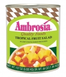 Ambrosia Tropical Fruit Salad in Light Syrup, 107 oz