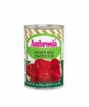 Ambrosia Choice Red Pimentos, 14oz.