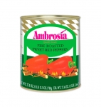 Ambrosia Fire Roasted Red Peppers, 28oz.