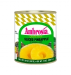 Sliced Pineapple in Natural Juice, 20 oz.