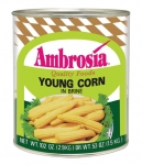 Ambrosia Whole Baby Corn 150/200 ct